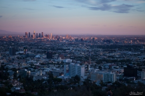 Downtown LA from Hollywood Hills