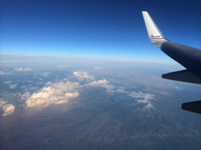 Over New Mexico